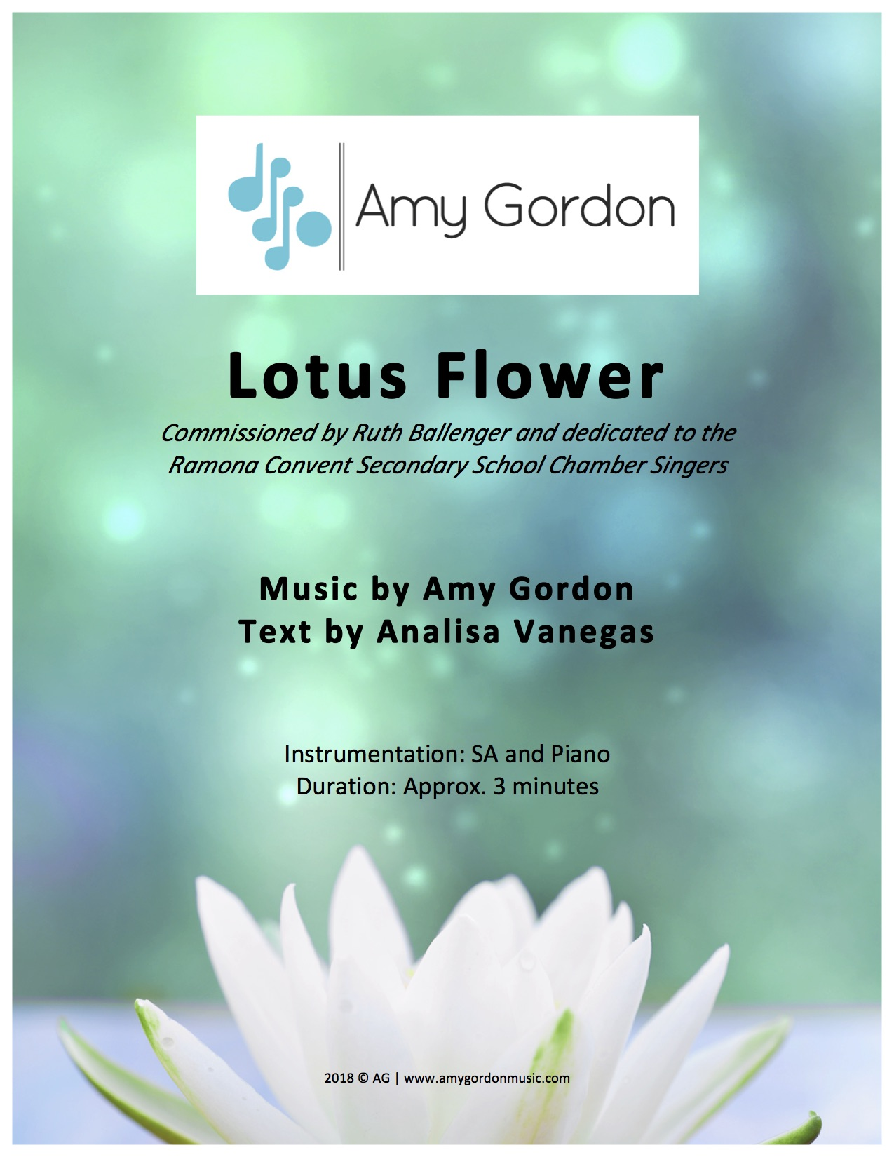 Lotus Flower By Amy Gordon Amy Gordon